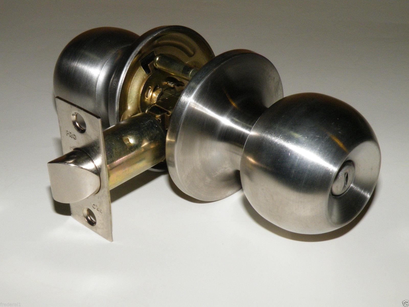 brushed nickel interior door knobs photo - 7