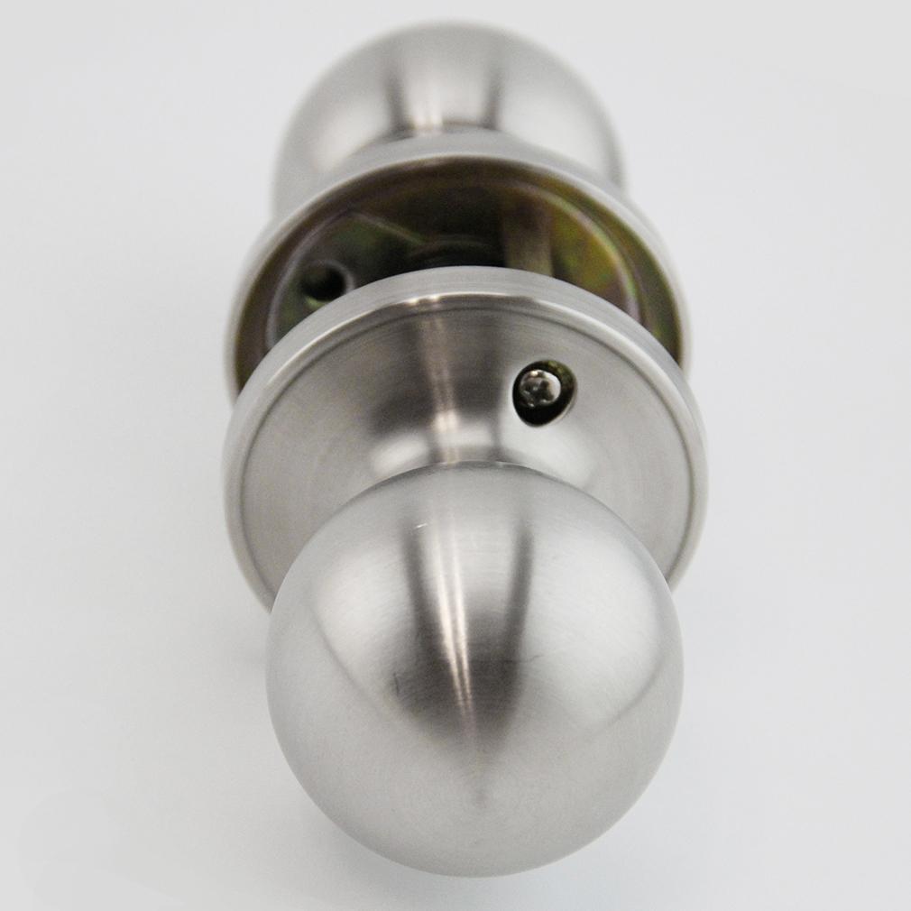 brushed steel door knobs photo - 20