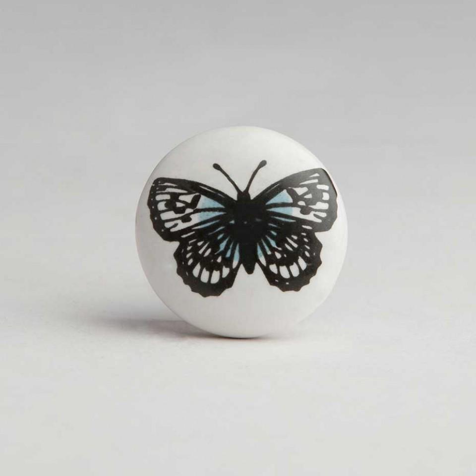 butterfly door knob photo - 1