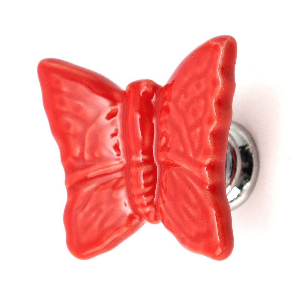 butterfly door knob photo - 15