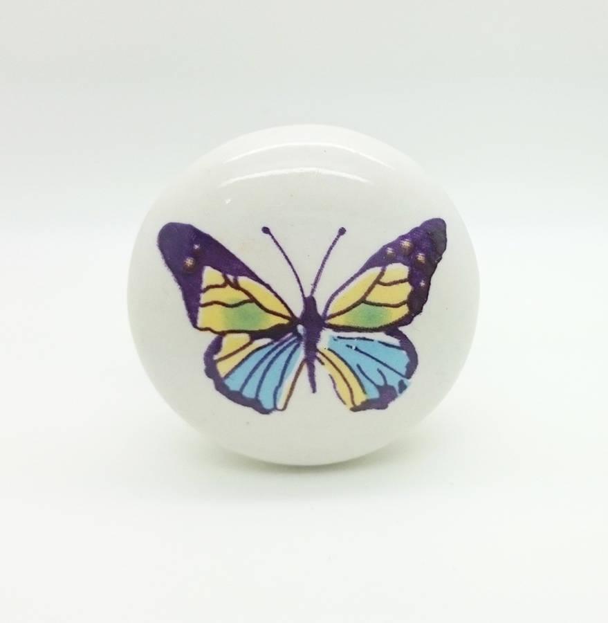 butterfly door knobs photo - 14