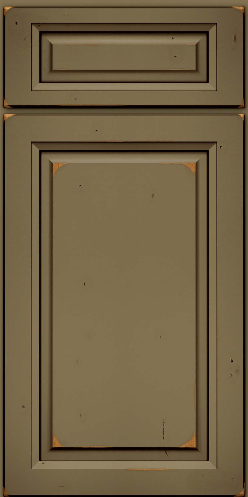 cabinet door knob location photo - 18