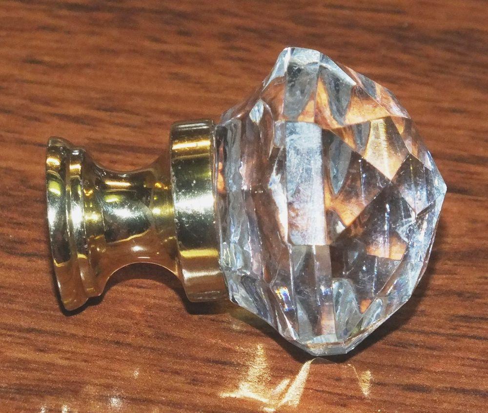 cabinet door knobs glass photo - 14