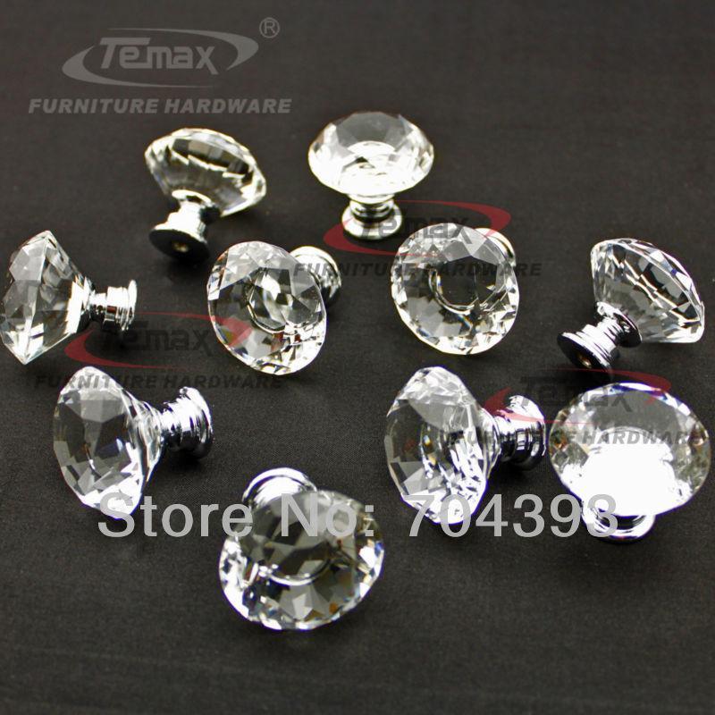cabinet door knobs glass photo - 20
