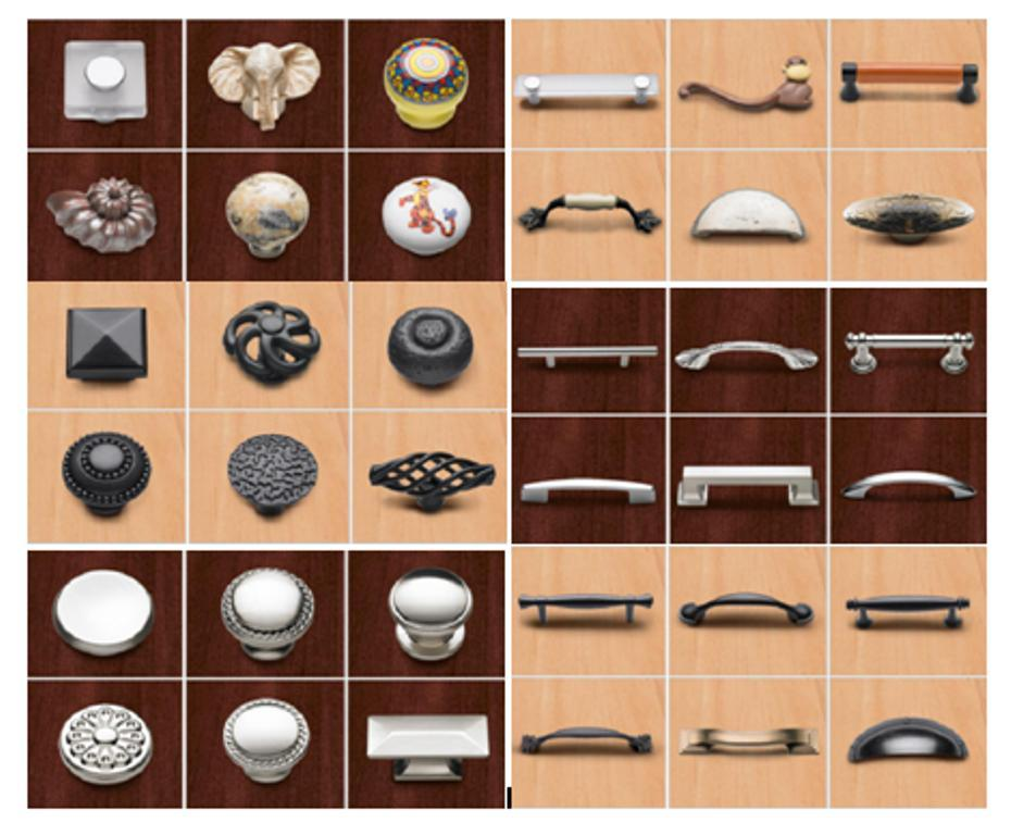 cabinet door knobs home depot photo - 11
