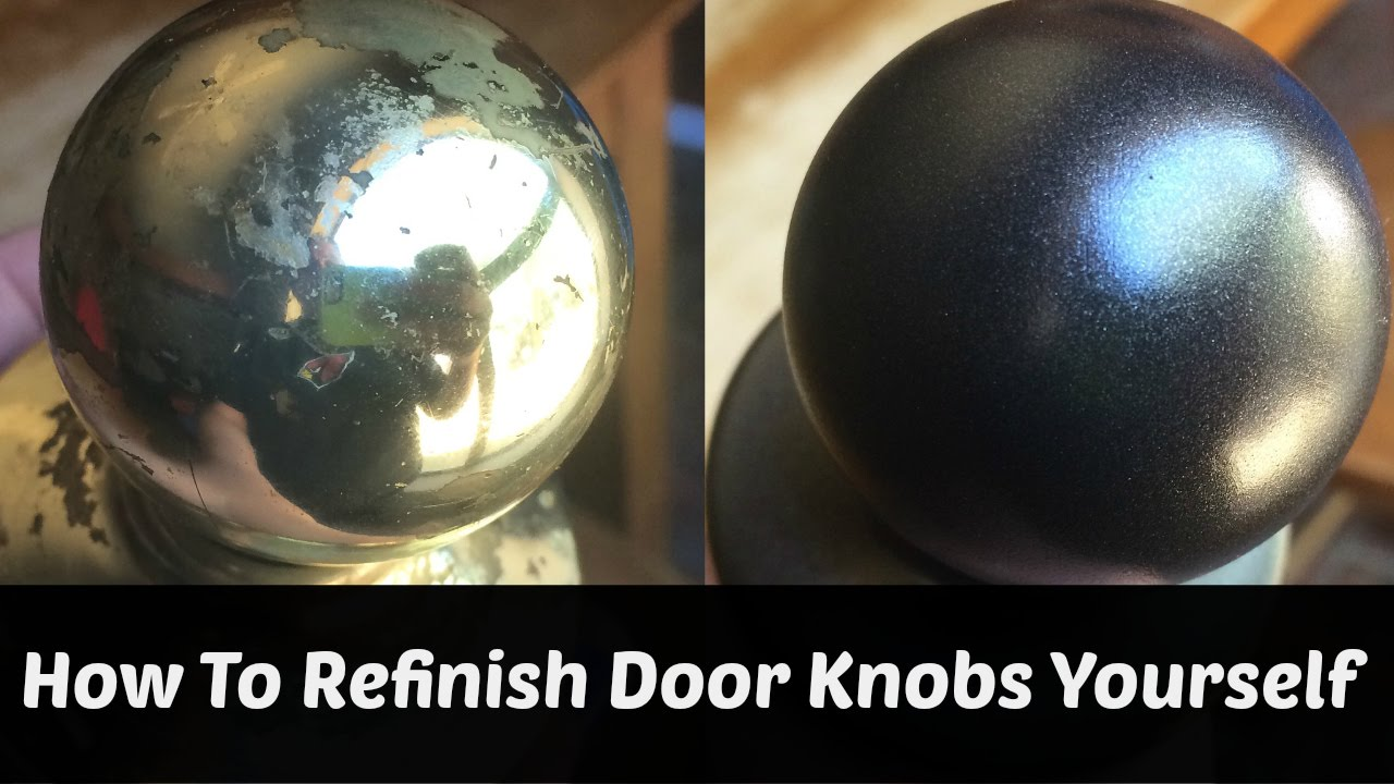 can you paint brass door knobs photo - 9