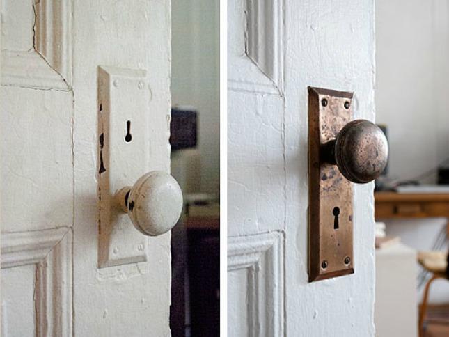 can you paint door knobs photo - 13