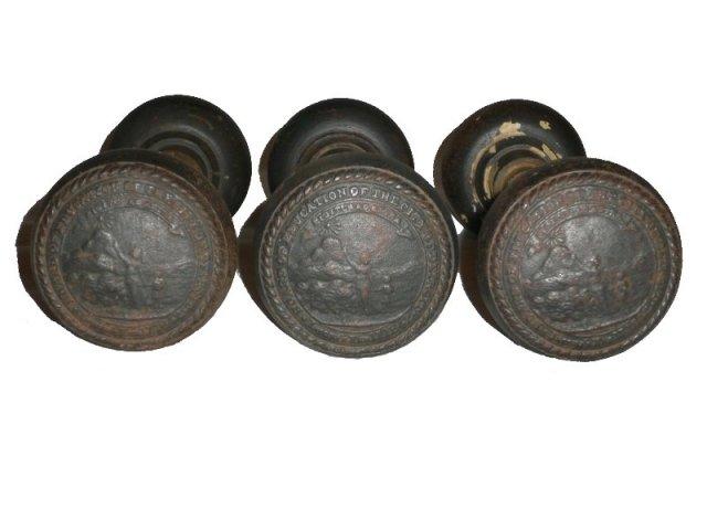 cast iron door knobs photo - 3