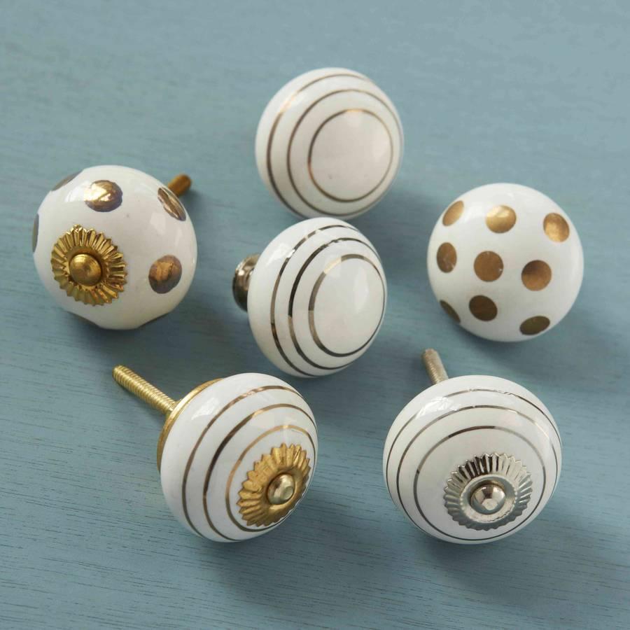 ceramic cupboard door knobs photo - 14