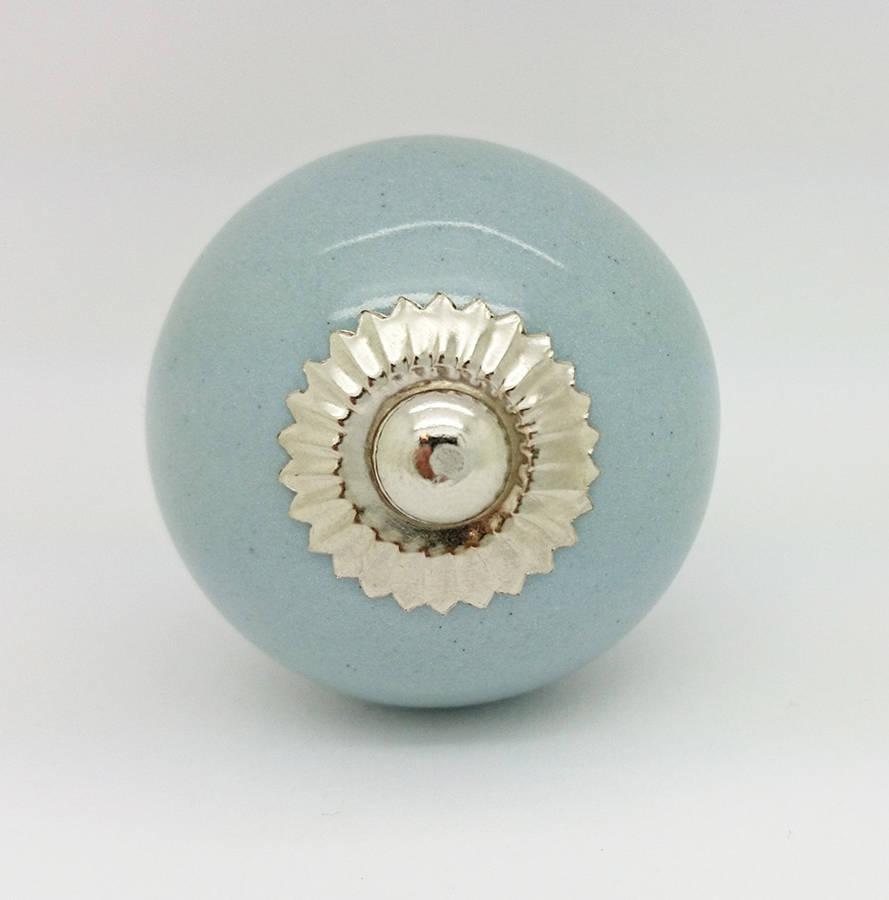 ceramic cupboard door knobs photo - 16