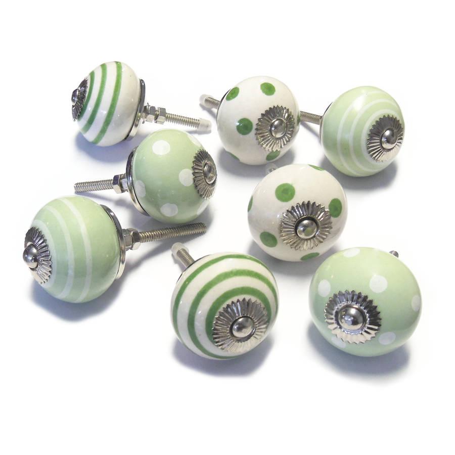 ceramic cupboard door knobs photo - 17