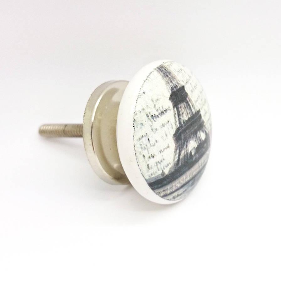 ceramic door knob photo - 10