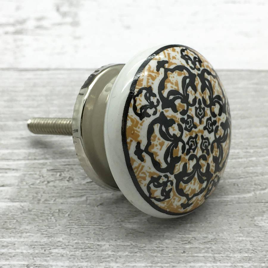 ceramic door knob photo - 11