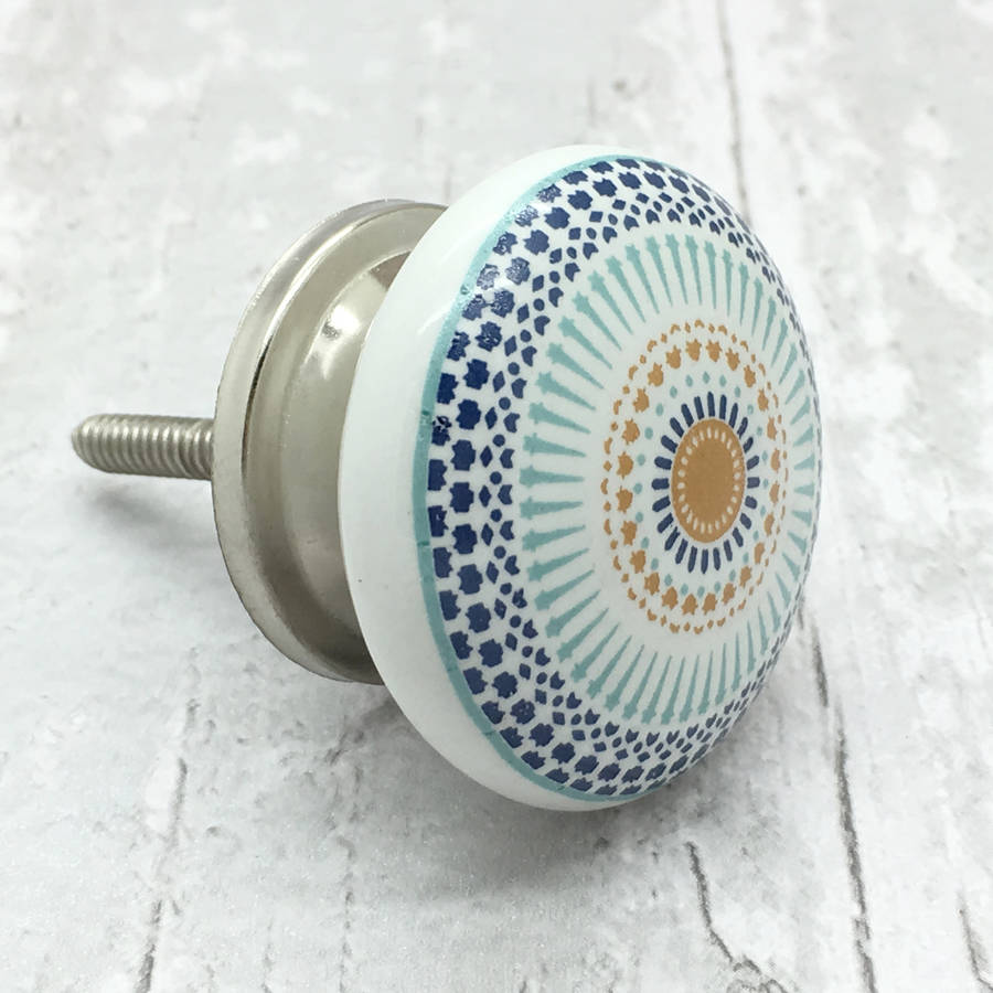 ceramic door knob photo - 3