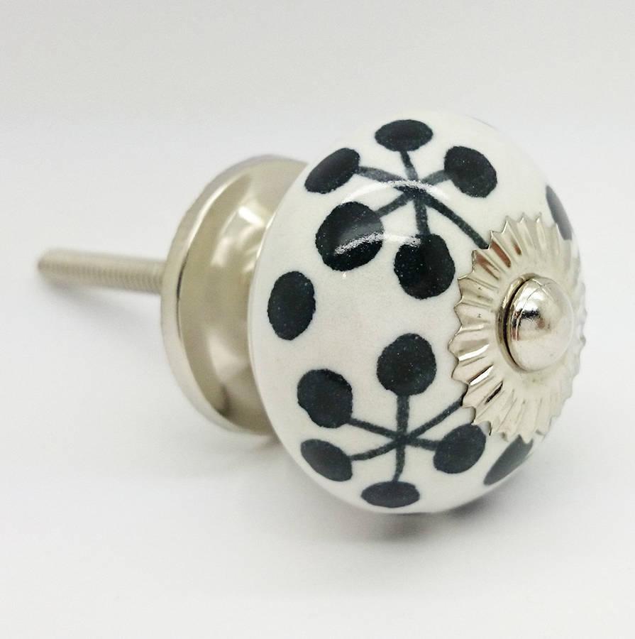 ceramic door knob photo - 9