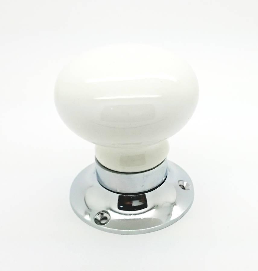 ceramic mortice door knobs photo - 15