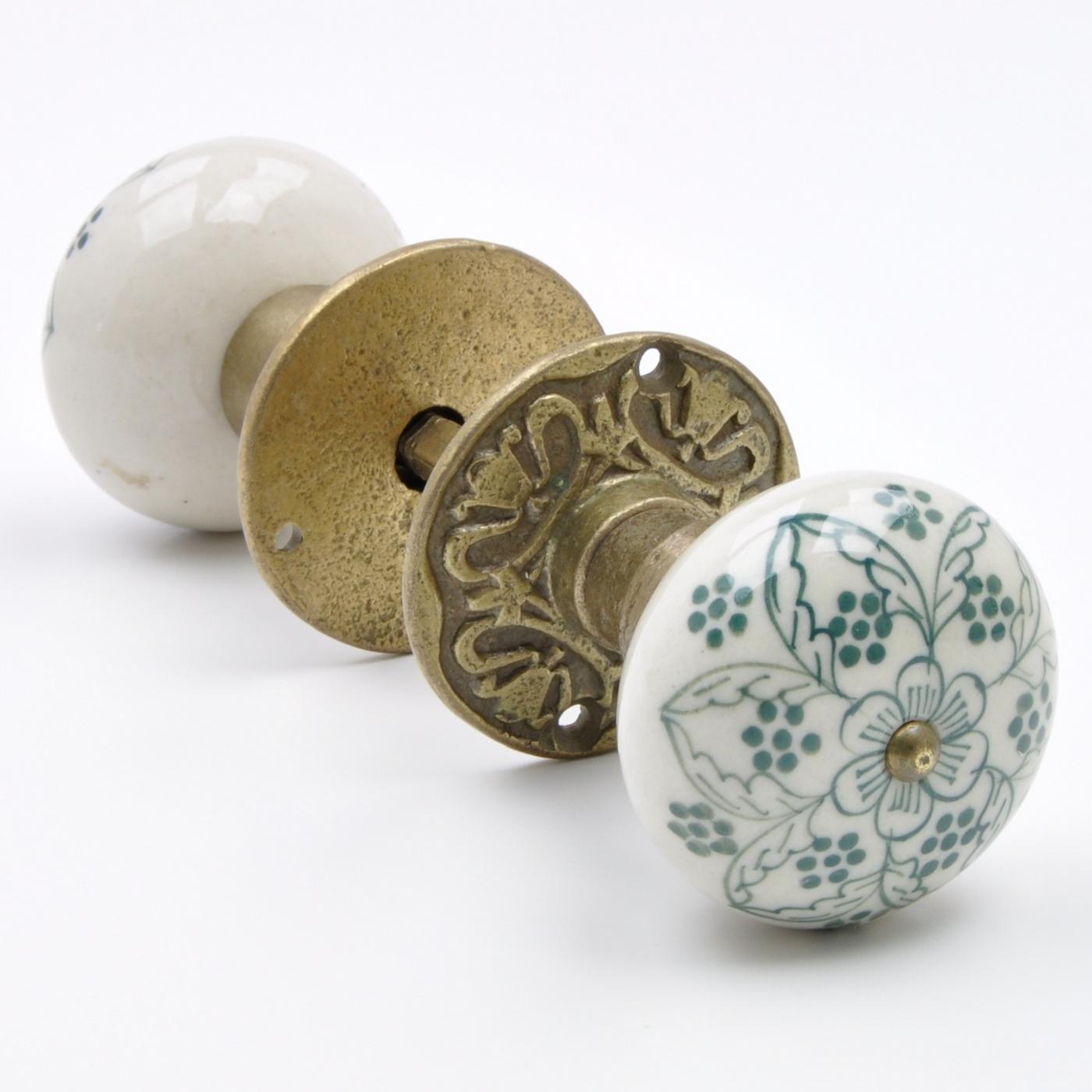 ceramic mortice door knobs photo - 20