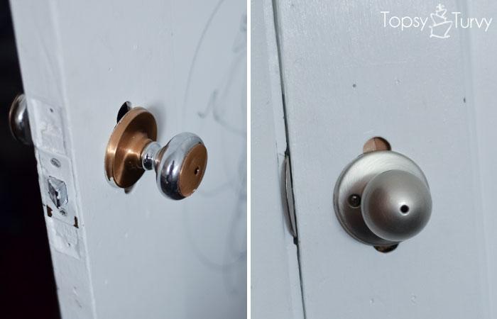 changing door knobs photo - 12