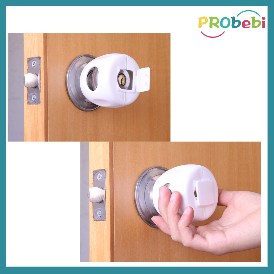 child proof door knob photo - 8