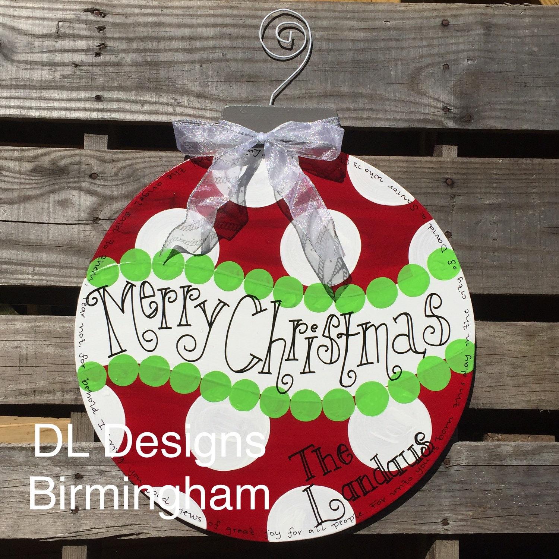 christmas door knob hangers photo - 12