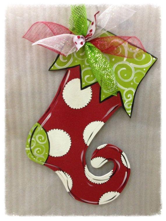 christmas door knob hangers photo - 15