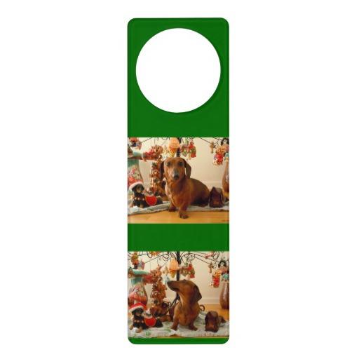 christmas door knob hangers photo - 2