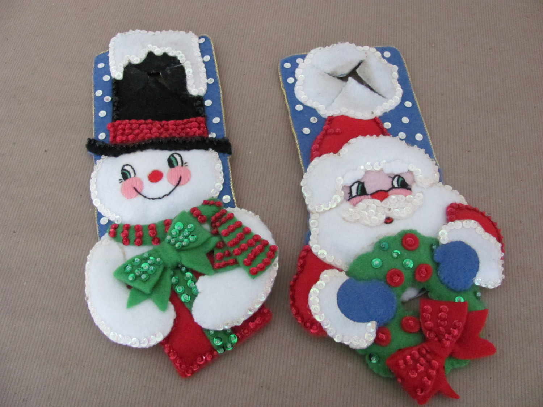 christmas door knob hangers photo - 4