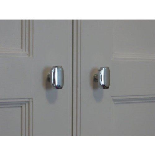 chrome cupboard door knobs photo - 5