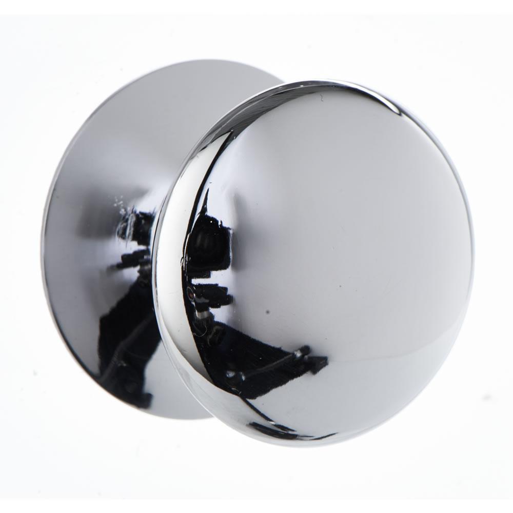 chrome door knob photo - 13