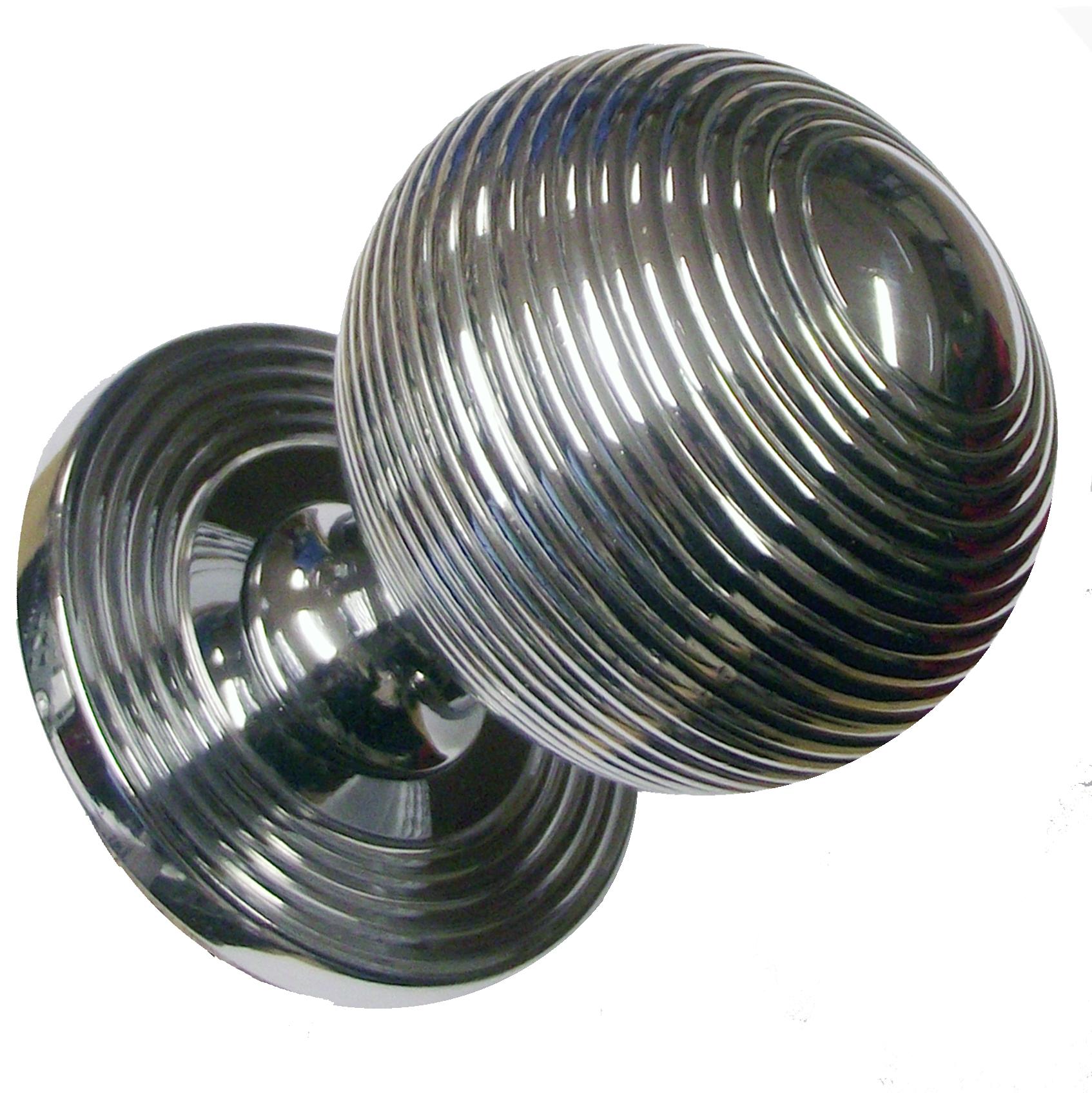 chrome door knobs photo - 13