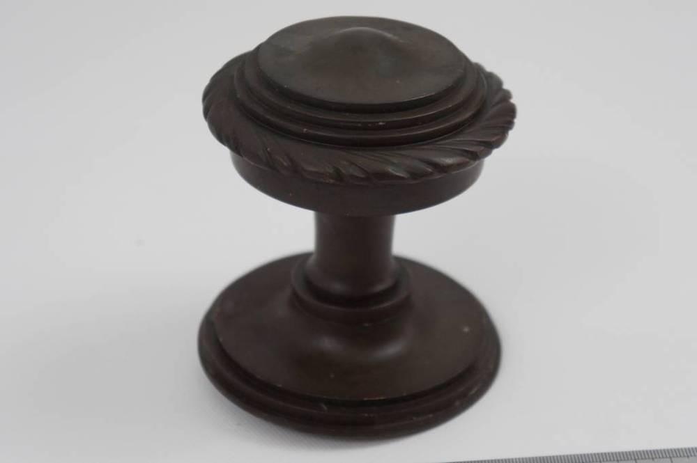 clean brass door knob photo - 2