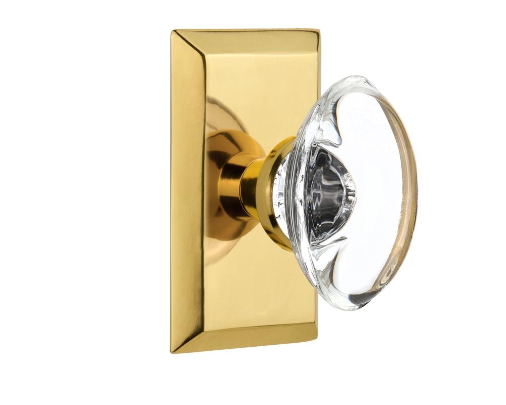 clean brass door knob photo - 3