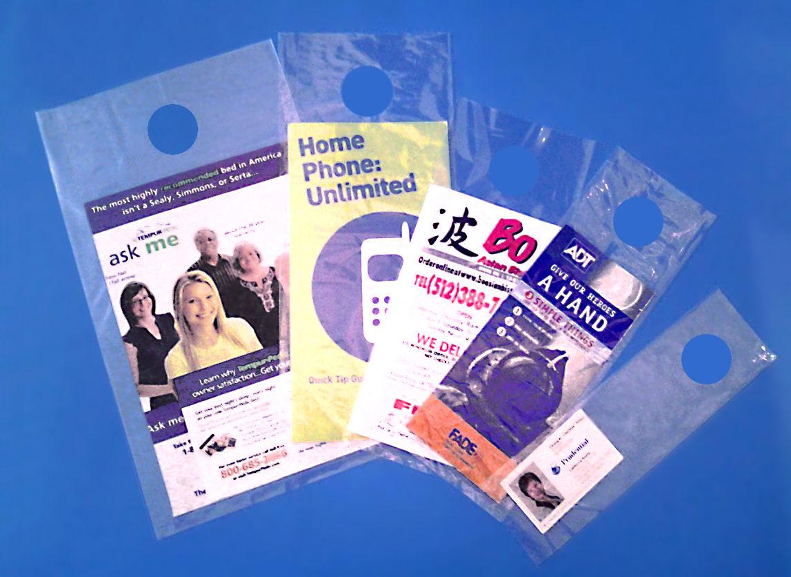 clear door knob bags photo - 13