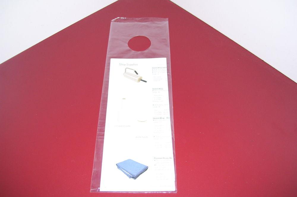 clear door knob bags photo - 15