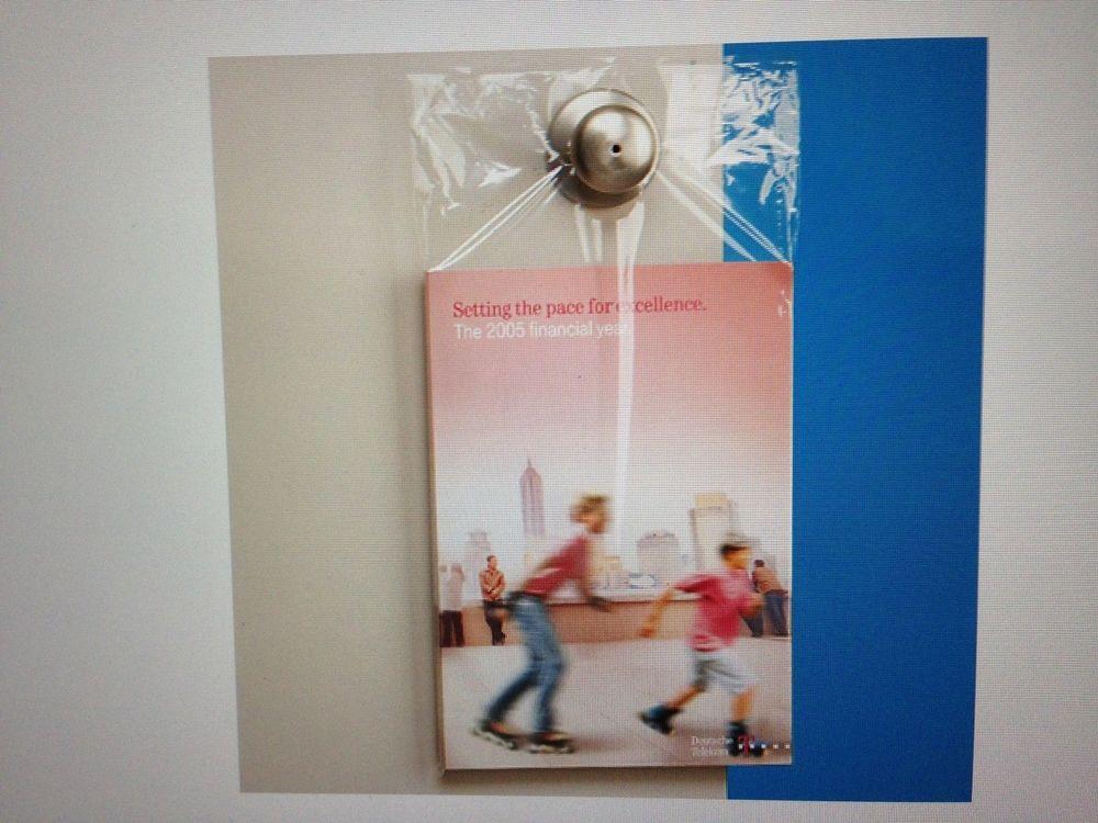 clear door knob bags photo - 20