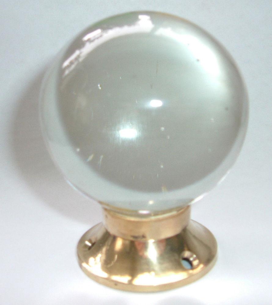 clear glass door knobs photo - 3