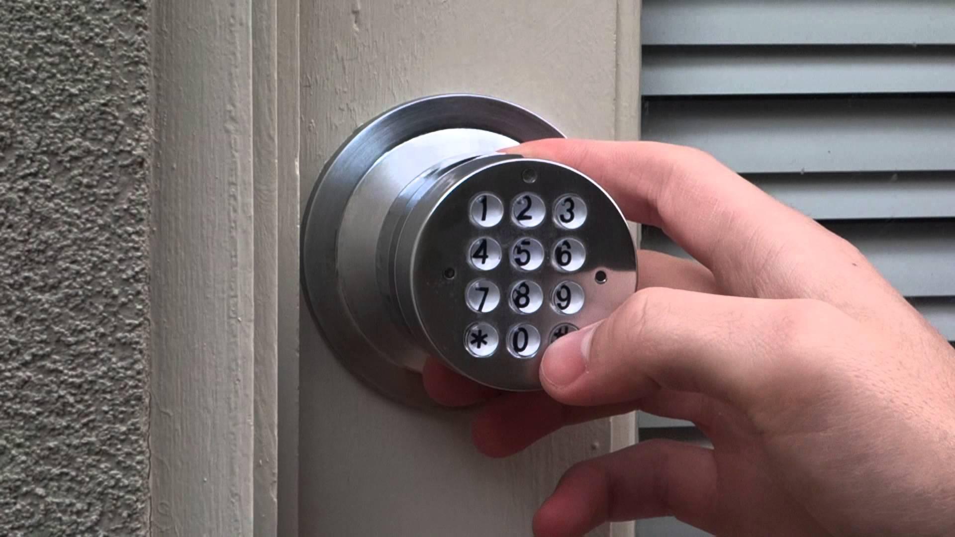 code lock door knobs photo - 1