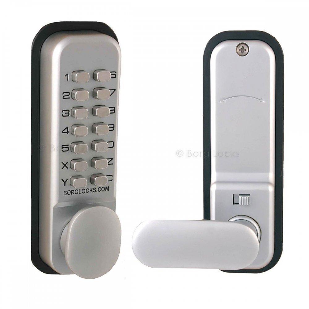 code lock door knobs photo - 5