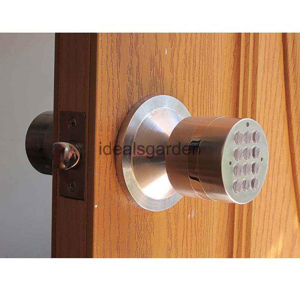 code lock door knobs photo - 8