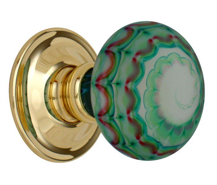 colored door knobs photo - 18