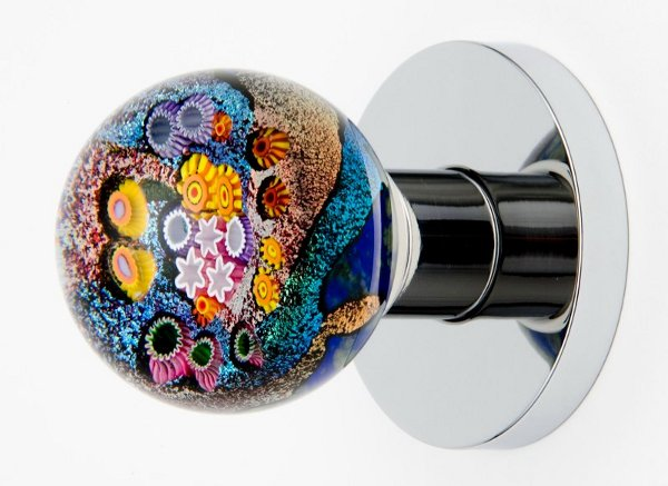 colored glass door knobs photo - 19