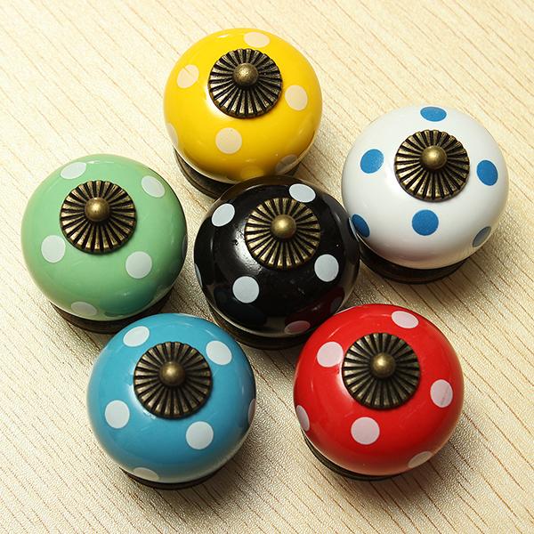 colorful door knobs photo - 16