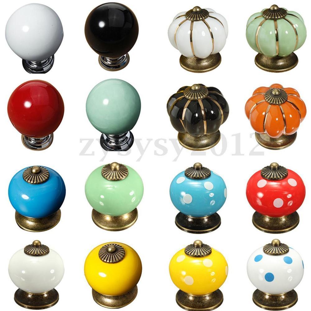 colorful door knobs photo - 4