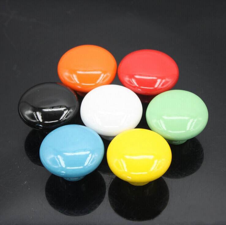 colorful door knobs photo - 5