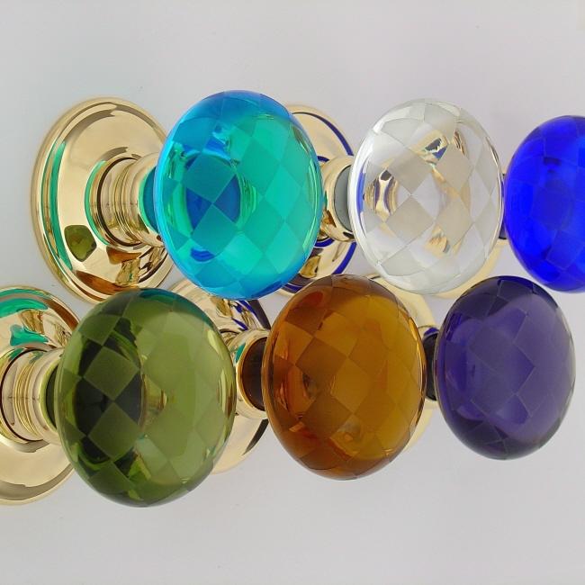 coloured glass door knobs photo - 5