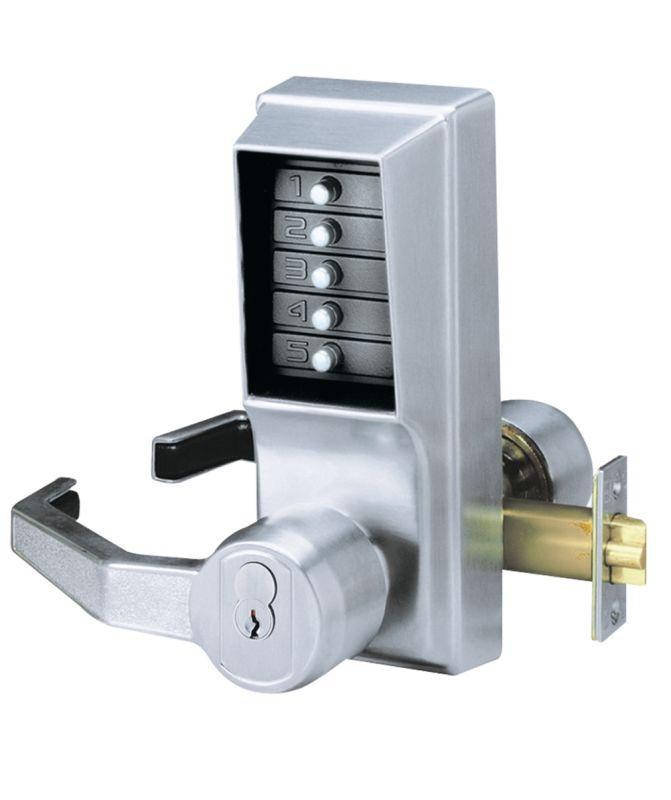 combination door knob lock photo - 13