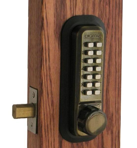 combination door knob lock photo - 15