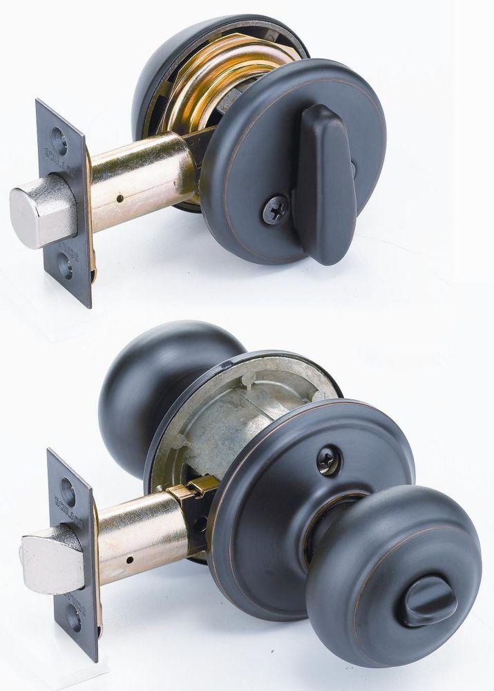 combination door knobs photo - 16