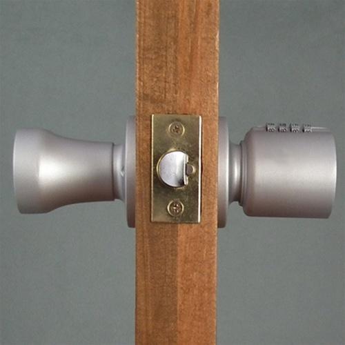 combination lock door knob photo - 10