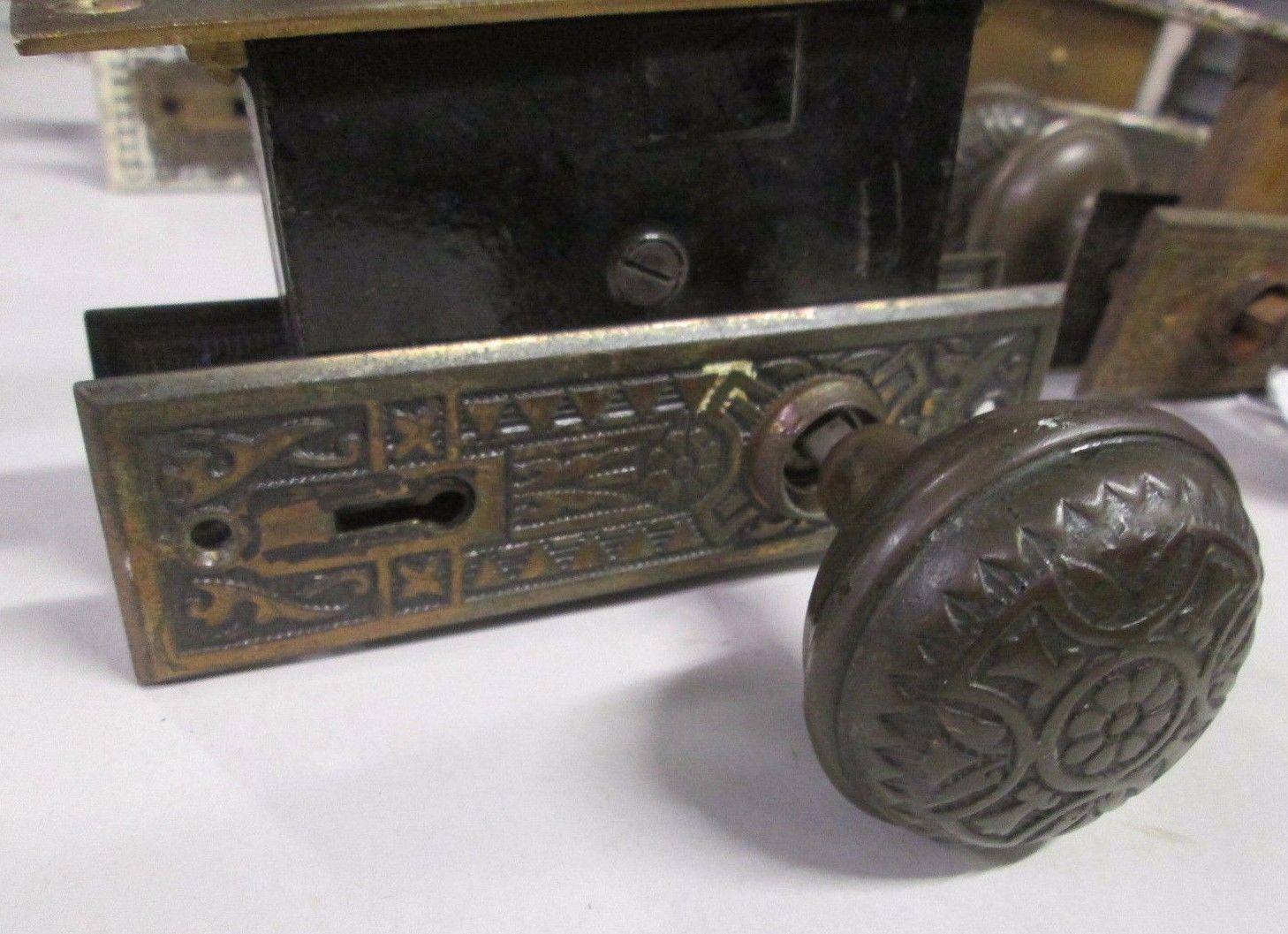 combination lock door knob photo - 12